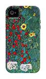 Garden with Crucifix iPhone 4/4S Case by Gustav Klimt