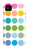 Rainbow Dots iPhone 4/4S Case by Avalisa