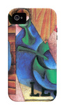 Glass, Cup and Newspaper iPhone 4/4S Case by Juan Gris