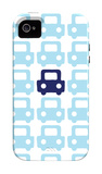 Blue Parking Lot iPhone 4/4S Case by  Avalisa