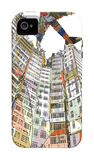 Kowloon Walled City iPhone 4/4S Case by  HR-FM