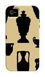 Urns in Silhouette I iPhone 4/4S Case by  Vision Studio