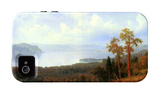 View of the Hudson River Vally iPhone 4/4S Case by Albert Bierstadt