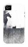 Death rides a horse iPhone 4/4S Case by Alex Cherry