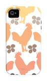 Orange Chicken Family iPhone 4/4S Case by  Avalisa