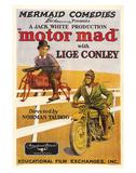 Motor Mad - 1924 Giclee Print