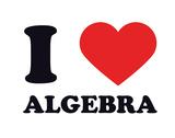 I Heart Algebra Giclee Print
