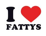 I Heart Fattys Giclee Print