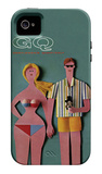 GQ - June 1965 iPhone 4 Case iPhone 4/4S Case by Robert Jackson