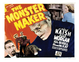 The Monster Maker - 1944 Reproduction procédé giclée