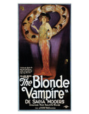 The Blonde Vampire - 1922 Giclée-Druck