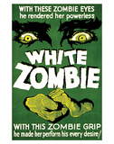 White Zombie - 1932 Reproduction proc&#233;d&#233; gicl&#233;e