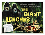 Attack Of The Giant Leeches - 1959 I Giclee Print