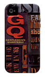 GQ - Feb 1965 iPhone 4 Case iPhone 4/4S Case by Leo Kaplan