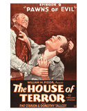 The House Of Terror - 1928 Reproduction procédé giclée