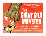 The Giant Gila Monster - 1959 Impression giclée