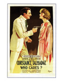 Who Cares - 1919 Giclee Print