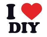 I Heart DIY Giclee Print