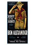 Scotty Of The Scouts - 1926 Giclee Print