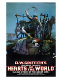 Hearts Of The World - 1918 Giclee Print