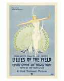 Lillies Of The Field - 1924 Giclee Print