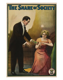 The Snare Of Society - 1911 Lmina gicle