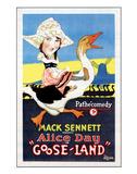 Gooseland - 1926 Giclee Print