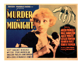 Murder at Midnight - 1931 Giclee Print