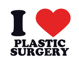 I Heart Plastic Surgery Giclee Print