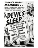 The Devil's Sleep - 1951 Posters