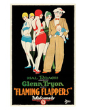 Flaming Flappers - 1925 Giclee Print