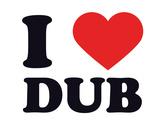 I Heart Dub Giclee Print