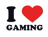 I Heart Gaming Giclee Print