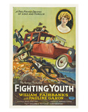 Fighting Youth - 1925 Reproduction proc&#233;d&#233; gicl&#233;e