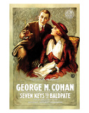 Seven Keys To Baldpate - 1917 Giclee Print