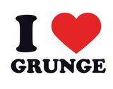 I Heart Grunge Giclee Print