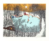 Walden Pond in Winter Edition limit&#233;e par Kay Ameche