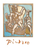 Femme et Minotaure Impressão colecionável por Pablo Picasso