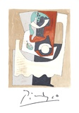 Nature Morte au Gueridon et a l'Assiette Collectable Print by Pablo Picasso