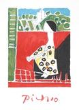 Femme Accroupi Impressões colecionáveis por Pablo Picasso