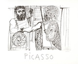 Etude pour Lesistratas Collectable Print by Pablo Picasso