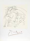 Taureau et Cheval Collectable Print by Pablo Picasso