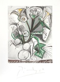 Le Bouquet Impressões colecionáveis por Pablo Picasso