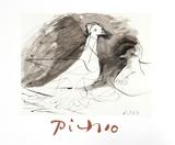 Pigeons Reproduction pour collectionneur par Pablo Picasso