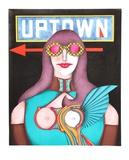 Uptown Samlartryck av Richard Lindner