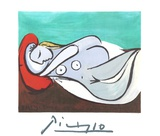 Formeuse a L&#39;Oreiller Collectable Print by Pablo Picasso