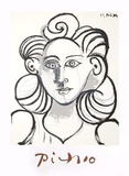 Portrait de Femme Stampa da collezione di Pablo Picasso