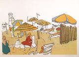Untitled (Beach Scene) Limited Edition by Vasilios Janopoulos