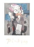 Personnage et Colombe Impressões colecionáveis por Pablo Picasso