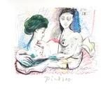 Deux Femmes Nues Impressões colecionáveis por Pablo Picasso